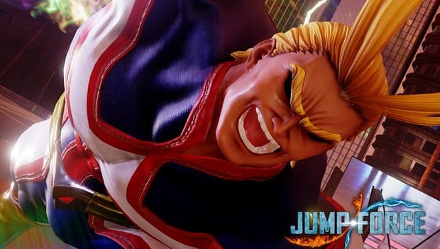 Jump Force Reveals My Hero Academia's All Might As Latest Roster Addition