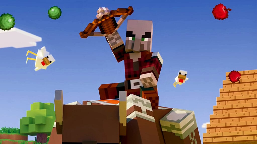 Biggest Minecraft Update Ever Goes Live With 'Village And Pillage' (VIDEO)