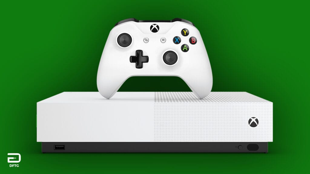 """All Digital"" Xbox One S Disc-Less Console Leaked"