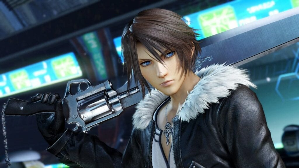 Dissidia Final Fantasy NT's Squall Is Getting His Kingdom Hearts Outfit