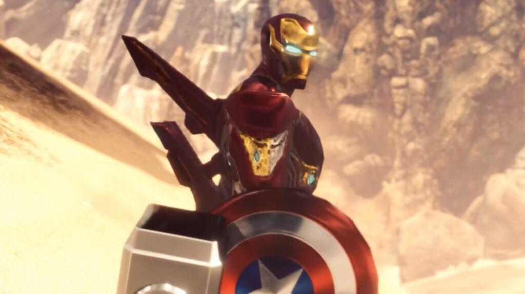 Monster Hunter World Iron Man One Punch Man
