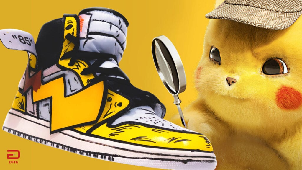 These Custom Detective Pikachu Air Jordans Are Electrifying