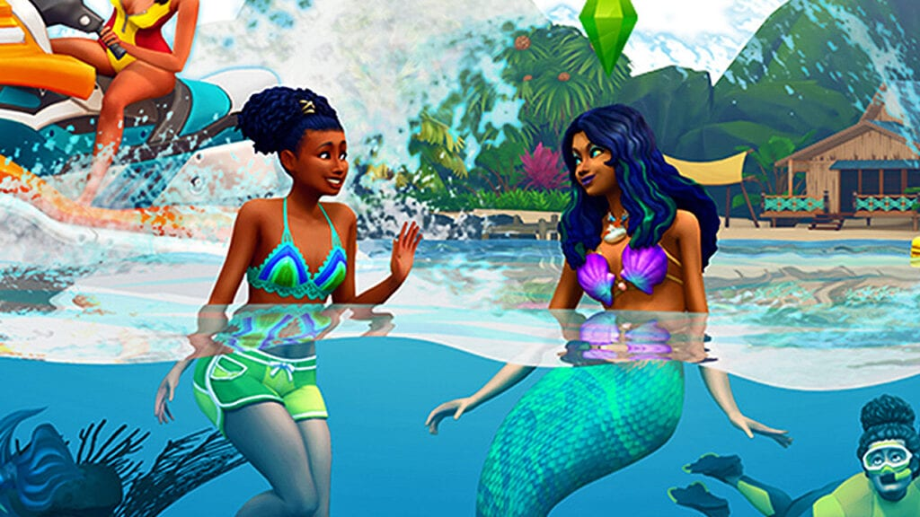 The Sims 4 Reveals Tropical 'Island Living' Expansion (VIDEO)