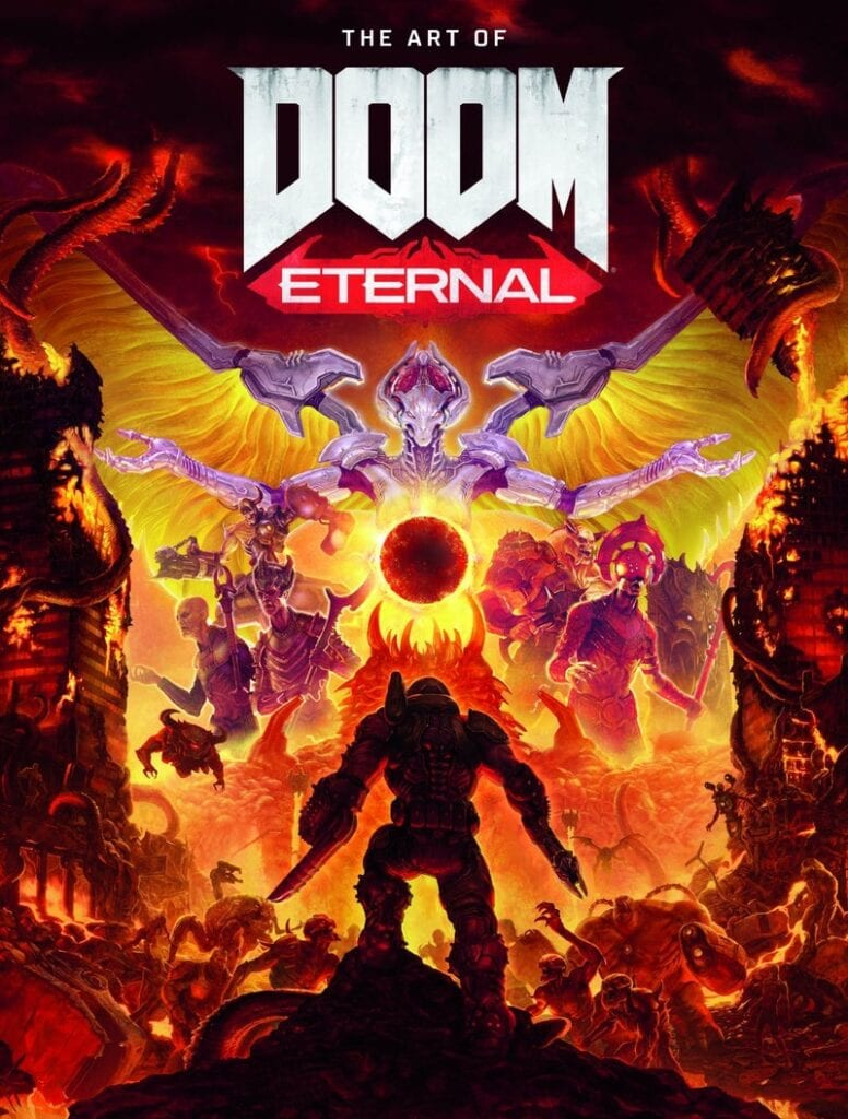 DOOM Eternal Art Book Now Available For Pre-Order