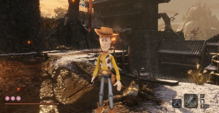Sekiro: Shadows Die Twice Toy Story Mod Brings Sheriff Woody To Life (VIDEO)