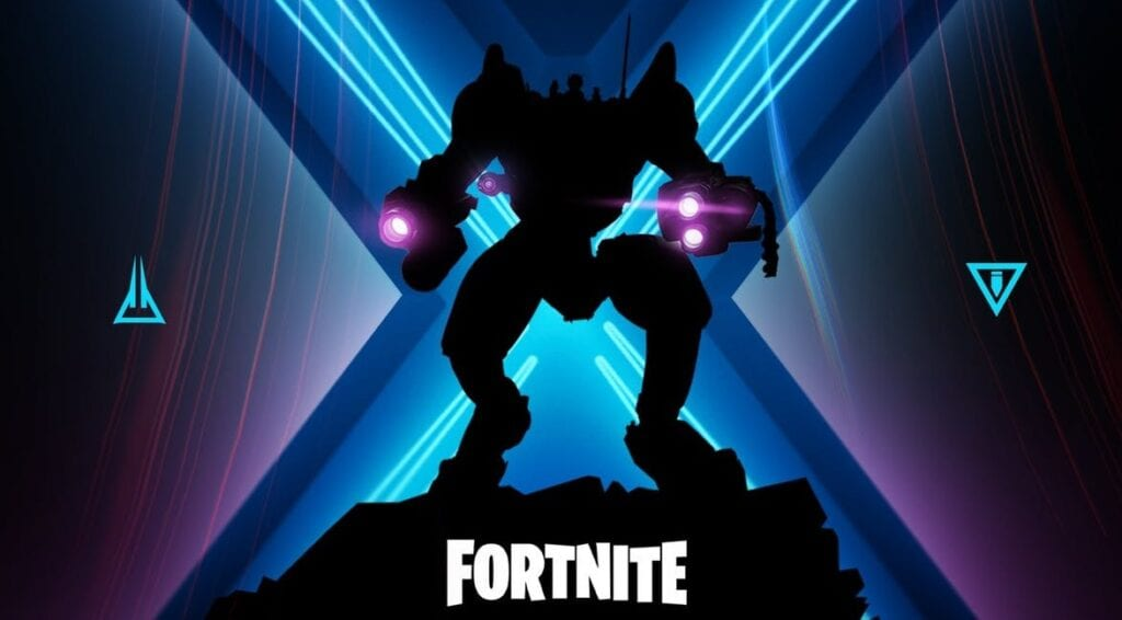 Fortnite Season 10 Teases Mecha-Sized Return