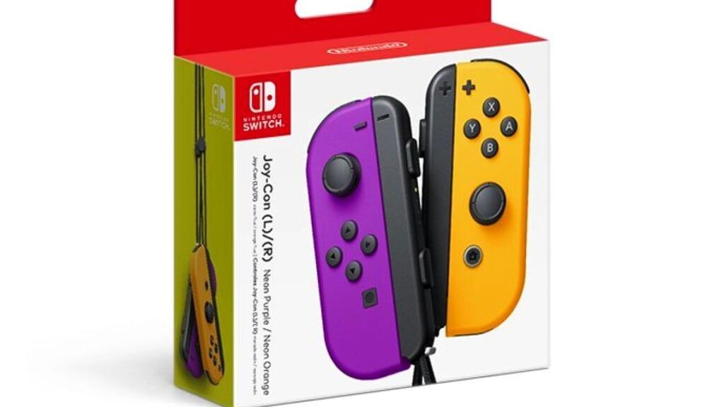New Nintendo Switch Neon Joy-Con Colors Revealed