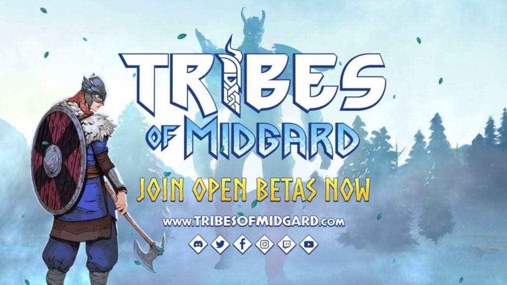 Co-op Viking Game 'Tribes Of Midgard' Now In Open Beta (VIDEO)