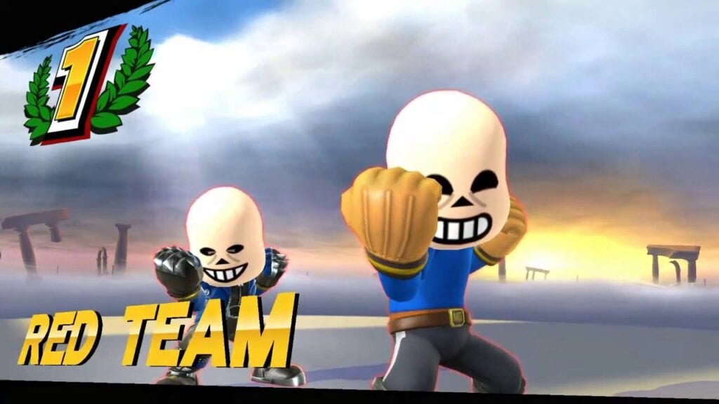 Super Smash Bros Ultimate Leak Claims Undertale Character Is Next DLC Fighter