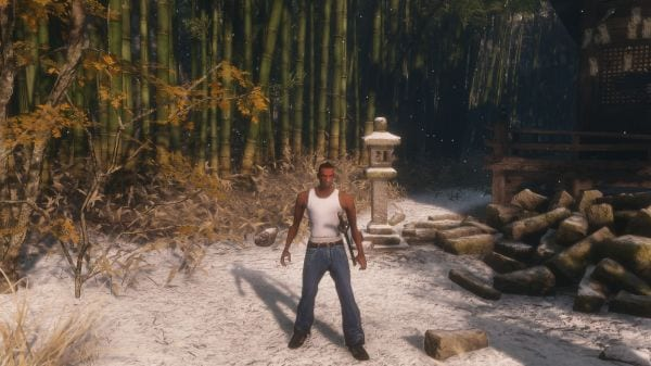 Sekiro GTA San Andreas Mod Turns CJ And Big Smokie Into Samurai (VIDEO)