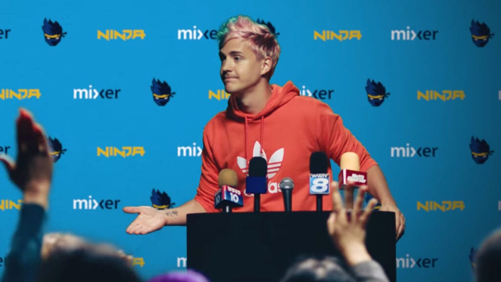 Twitch Streamer Ninja Moves To Mixer, Offers Free Subscriptions (VIDEO)