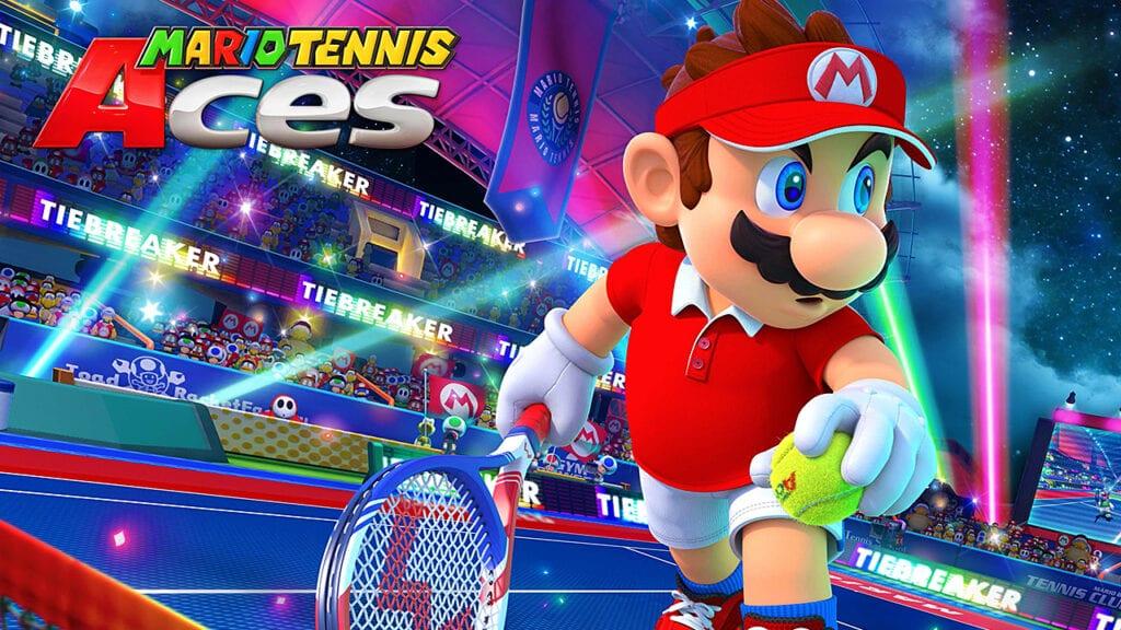Nintendo Switch Game Trials Mario Tennis Aces