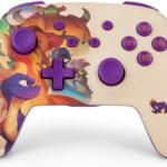 This Nintendo Switch Spyro Trilogy Controller Is Pure Fire