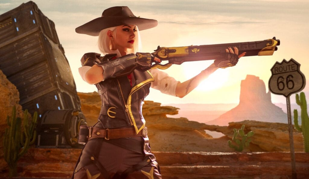 This Ashe Overwatch Cosplay Is Absolutely Explosive!