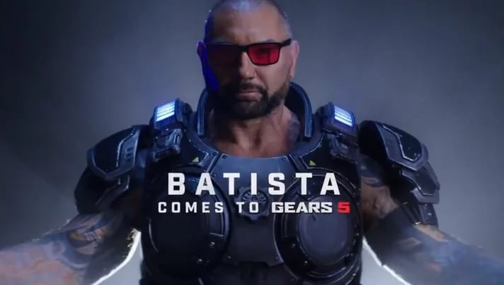 Gears 5 Adding Dave Bautista As Playable Character