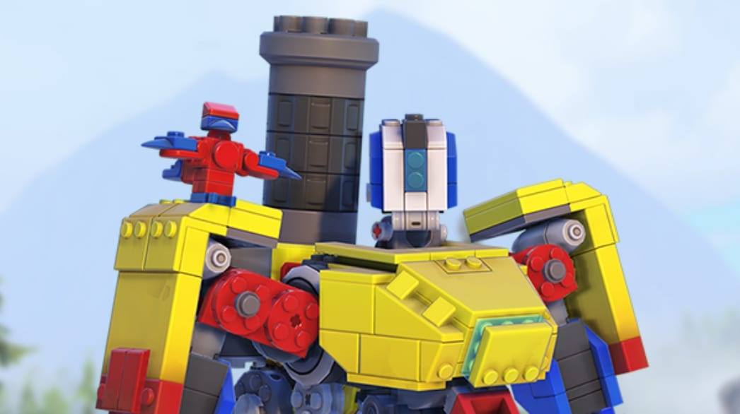 Overwatch Lego Bastion Event