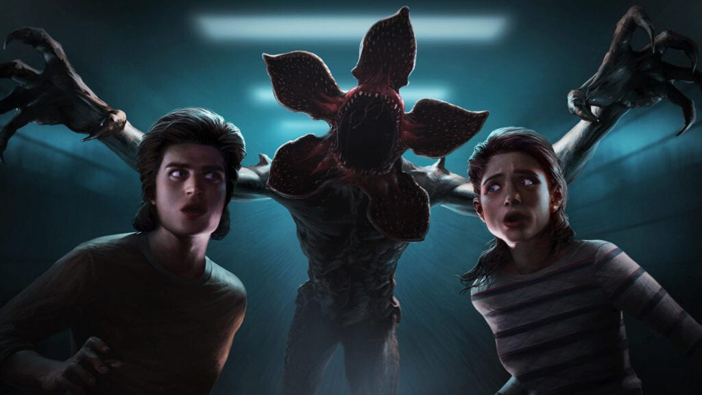 dead by daylight strangers things key art