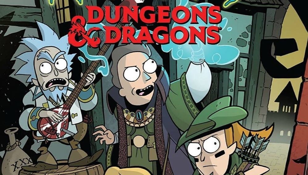 Dungeons & Dragons Rick And Morty Crossover Adventure Release Date Announced