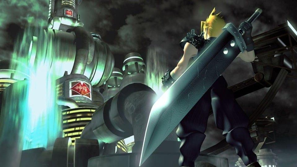Final Fantasy VII Remake Recreates The Original Game's Iconic Box Art
