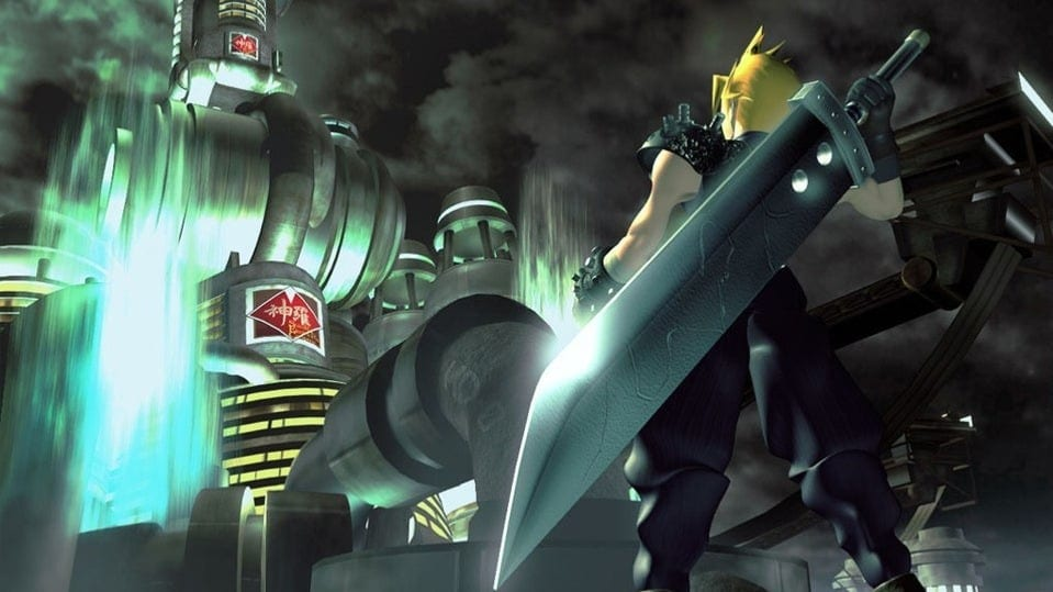 Final Fantasy VII Remake Recreates The Original Game's Iconic Box Art