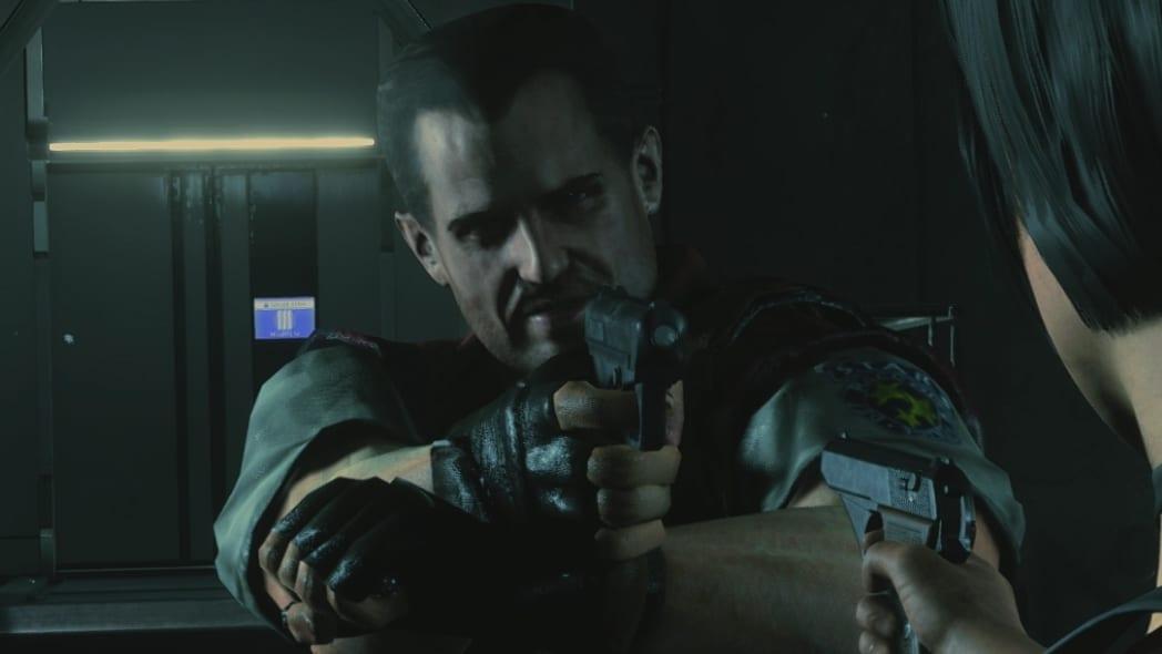 Barry Burton Resident Evil 2 mod