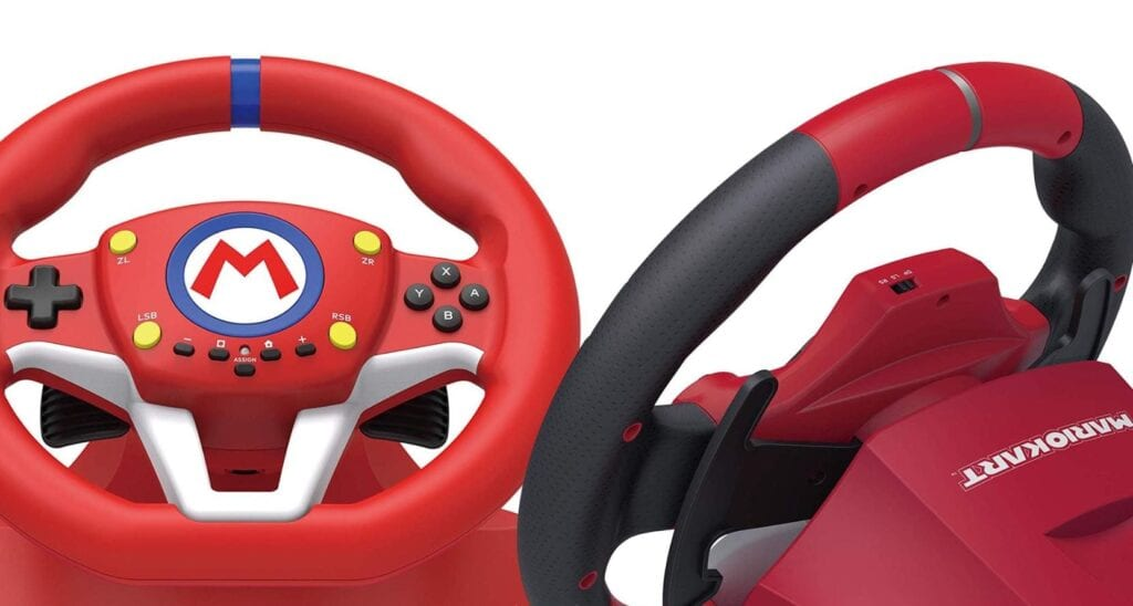 Mario Kart Racing Wheel From HORI Announced For Nintendo Switch