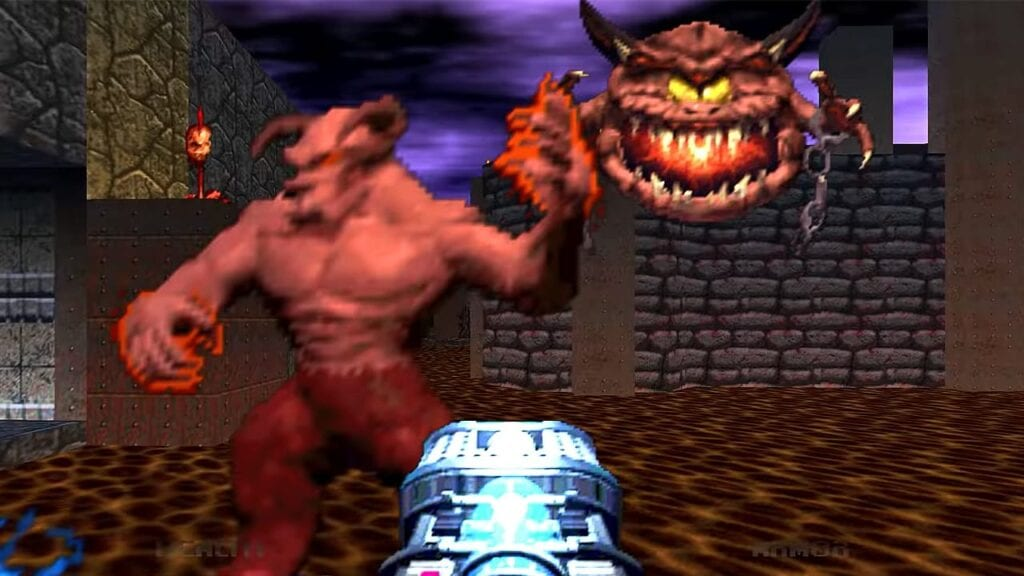 DOOM 64 Reveals Brutally Nostalgic Gameplay Trailer (VIDEO)