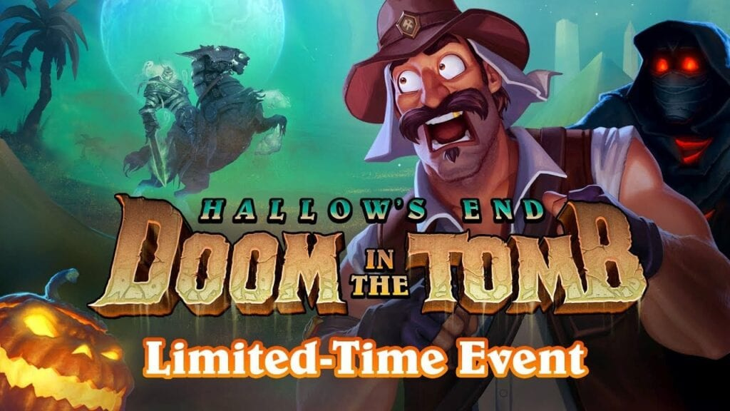 halloween doom in the tomb hearthstone