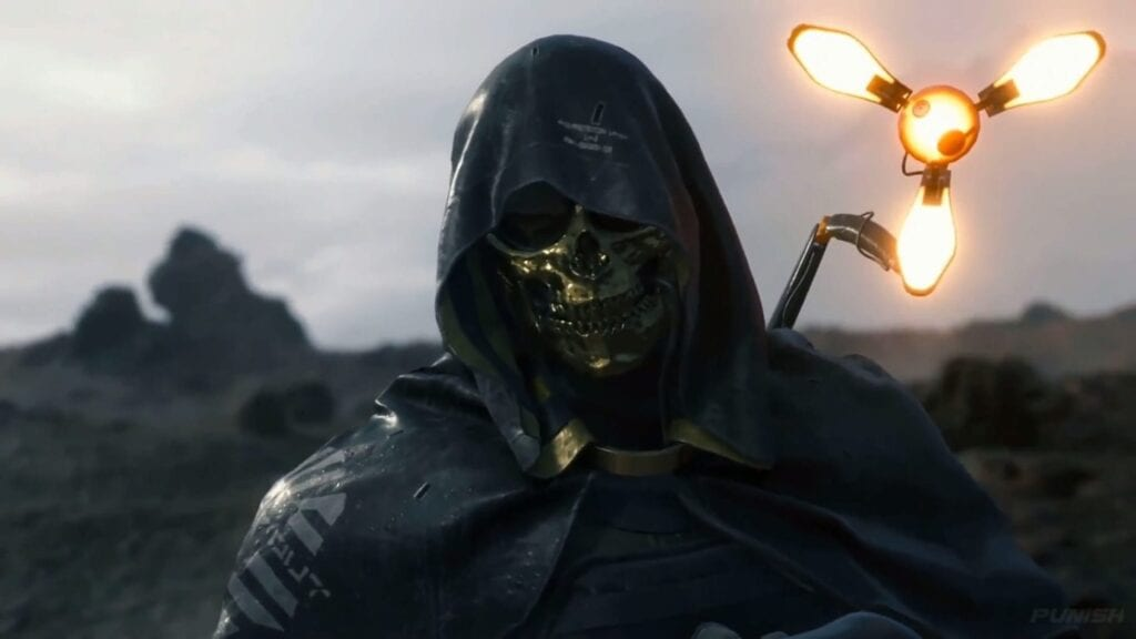 Death Stranding's PlayStation 4 File Size Revealed