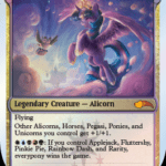 magic the gathering my little pony 6