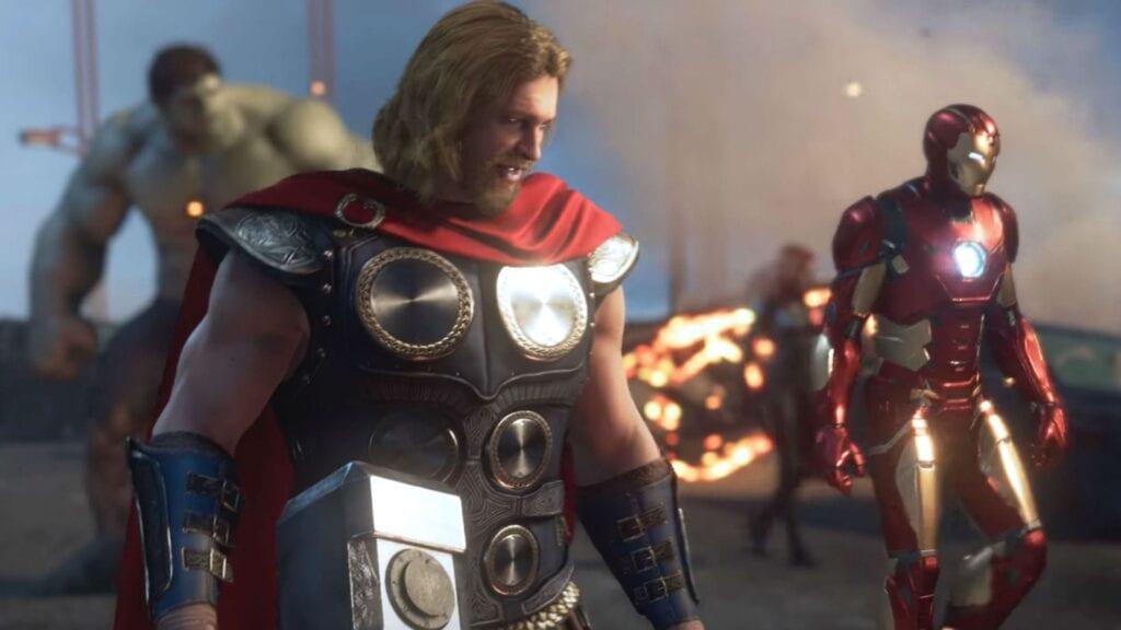 Marvel's Avengers Reveals Why Thor Leaves Mjolnir Behind