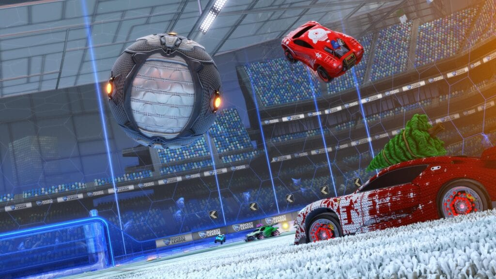 Rocket League Winter 2019 Roadmap Reveals New 'Frosty Fest' Event, DLC News, And More