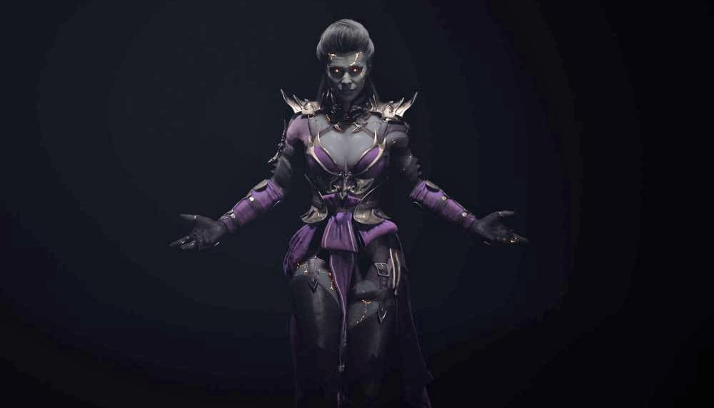 Mortal Kombat 11 Sindel gameplay