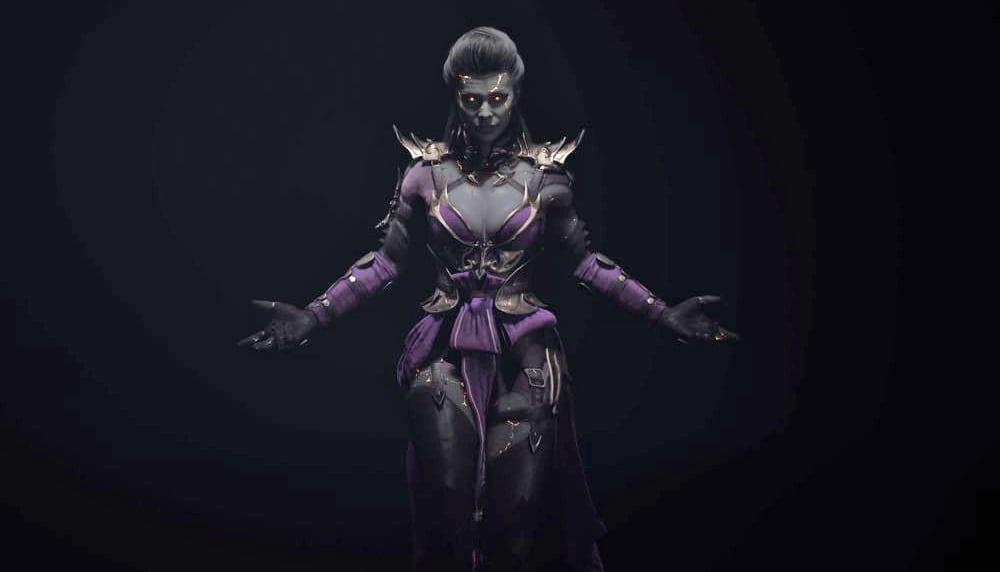 Mortal Kombat 11 Sindel gameplay