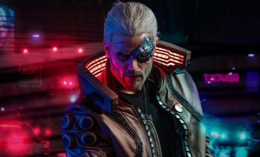 Cyberpunk Geralt