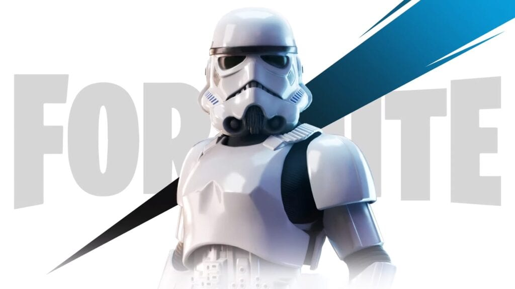 Fortnite Star Wars Stormtrooper
