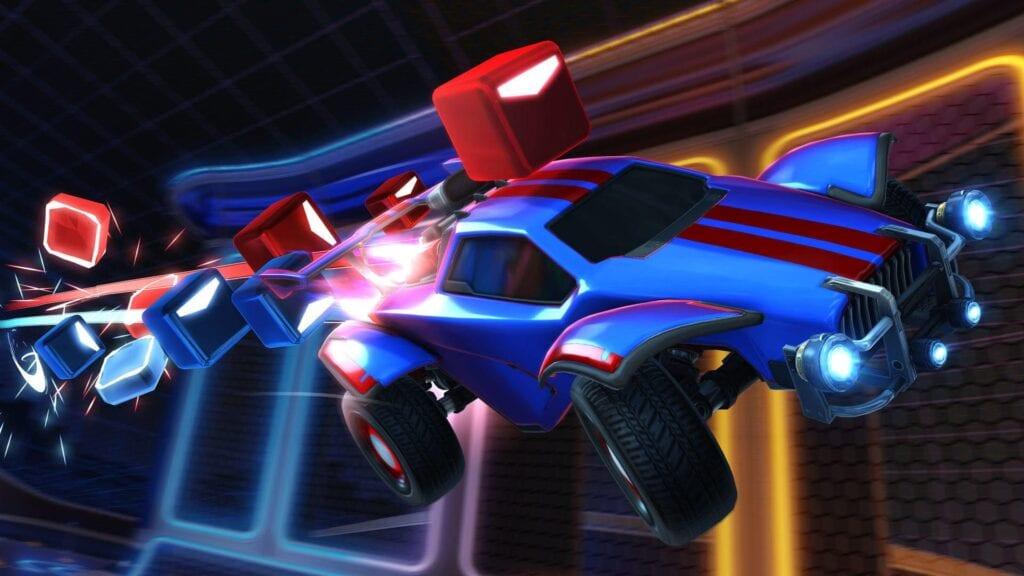 beat saber rocket league
