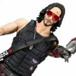 Cyberpunk 2077 Keanu Reeves Johnny Silverhand Figure
