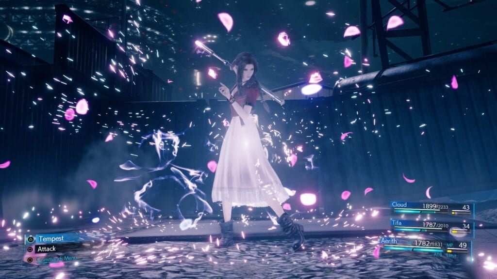 New Final Fantasy VII Remake Screenshots Show Off Aerith's Magical Prowess