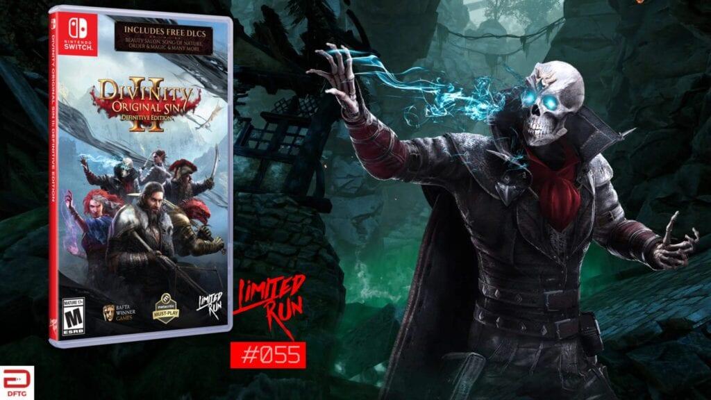 divinity original sin 2 limited run games nintendo switch feat