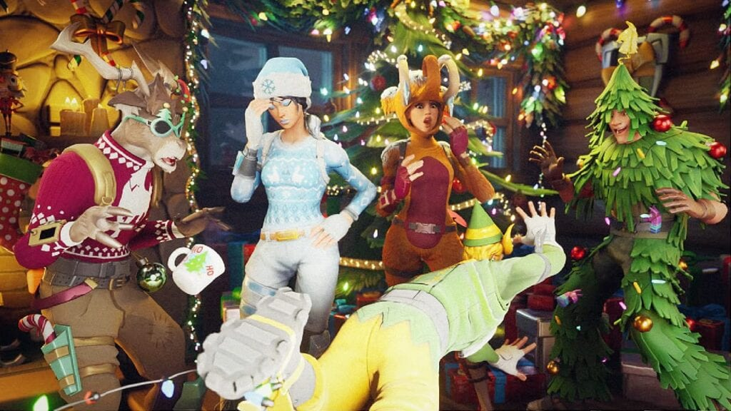 New Fortnite Update Adds Winterfest Event, Custom Modes (VIDEO)