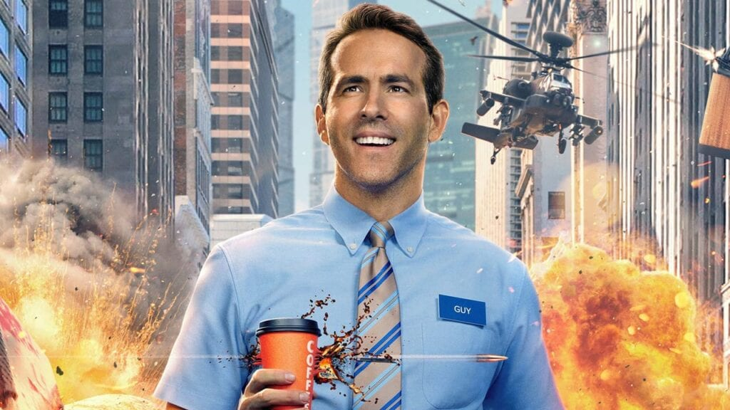 Free Guy Ryan Reynolds