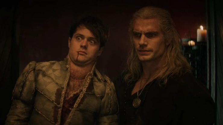 The Witcher's Jaskier Actor Loves Getting Henry Cavill To Break Character On Set
