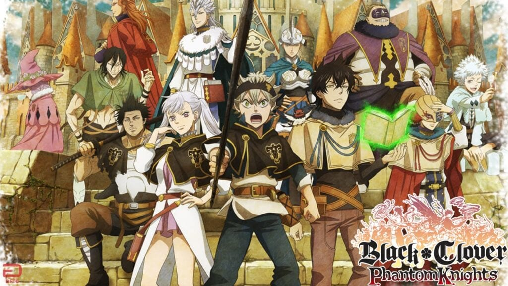 black clover phantom knights mobile game