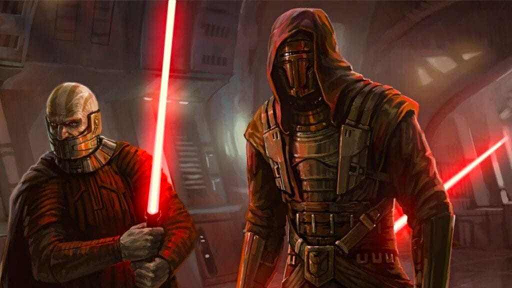 knights of the old republic star wars reboot