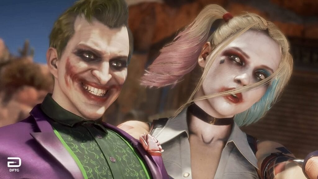 Mortal Kombat 11 Joker Injustice 3
