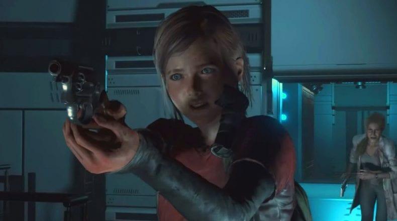 Resident Evil 2 Ellie