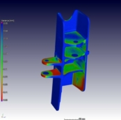 Part to CAD comparison of the casting