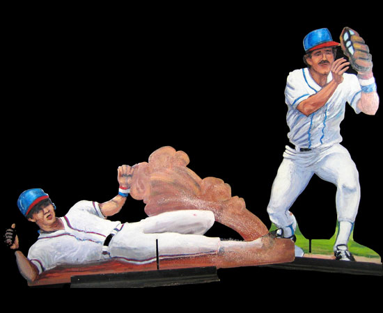 Baseball Player Cut Outs Monte Carlo Productions