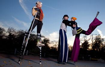 Circus Stilt Walkers